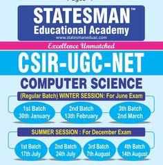 #Statesman_Academy - Best Ugc Net Commerce Coaching In Chandigarh
