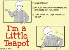 I'm A little teapot- nursery action #songs - let's Play #Music for #kids