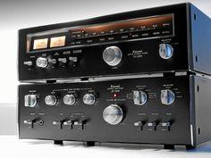 Sansui TU 5500 Sansui AU 5500 (Appearance identical of 7700 Series) Hifi Stereo, Hifi Audio, Audio Speakers, Equipment For Sale, Audio Equipment, Simbolos Star Wars, Audio Vintage, Valve Amplifier, Audio Room