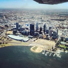 Perth from the air