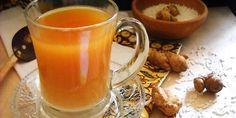 Kuliner: Resep Es Beras Kencur Segar - Editor: Endah Wijayanti | Vemale.com Turmeric Drink, Moscow Mule Mugs, Easy Meals, Easy Recipes, Beer, Tableware, Desserts, Food, Dan