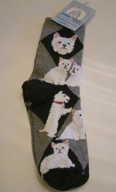 Westie Socks by Wheel House Designs