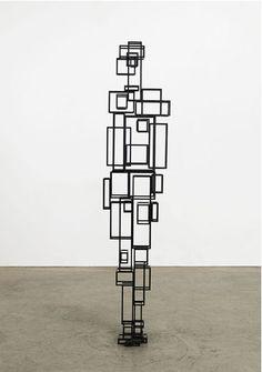 Sculpture by Antony Gormley Human Sculpture, Abstract Sculpture, Wood Sculpture, Metal Sculptures, Land Art, Light Art, Installation Art, Art Installations, Art Day