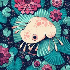 Frog, an art print by Cleonique Hilsaca Art And Illustration, Frosch Illustration, Illustrations, Inspiration Art, Art Inspo, Pretty Art, Cute Art, Bel Art, Frog Drawing