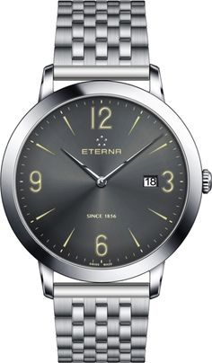 Eterna Watch Eternity Gent Quartz Pre-Order #add-content #basel-16 #bezel-fixed #bracelet-strap-steel #brand-eterna #case-material-steel #case-width-42mm #date-yes #delivery-timescale-call-us #dial-colour-silver #gender-mens #luxury #movement-quartz-battery #new-product-yes #official-stockist-for-eterna-watches #packaging-eterna-watch-packaging #pre-order #pre-order-date-30-08-2016 #preorder-august #style-dress #subcat-eternity #supplier-model-no-2730-41-58-1746…
