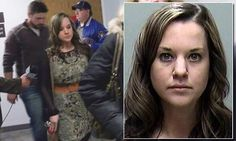 Wisconsin teacher sobs as she is jailed for sleeping with teen student