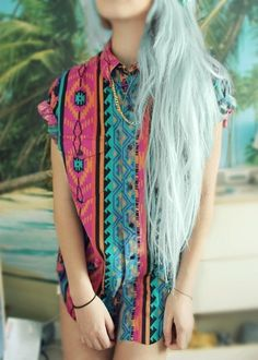 Pastel Blue Hair!!!!!!!!!!!!!!!