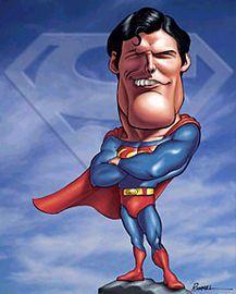 Keanu Reeves caricatures   Tom Welling George Reeves Brandon Routh Christopher Reeve