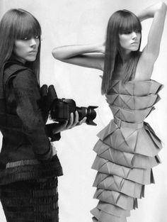 Freja Beha Erichsen by Karl Lagerfeld, Numéro #81