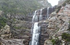 Walk the Waterfall Trail  Located on the famous Garden Route, Tsitsikamma National Park sits along a dramatic rocky coastline and includes a protected marine area. Luckily, day hikers can enjoy one of the prettiest sections of the path by hiking the first section, known as the Waterfall Trail. Taking about three hours roundtrip, the four-mile trek follows the coastline, and the halfway point is marked by an impressive waterfall.