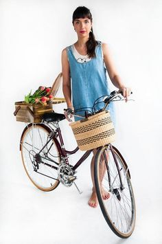 <3 // Spring/Summer 2013 Bicycle Chic Photo Shoot at Eleanor's HQ