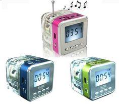 Mini speaker NiZHi TT028 USB / Radio