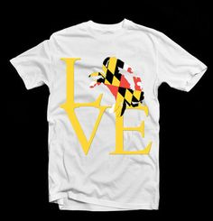 Maryland obsession, the fact that I cant have this shirt bothers me. I must have it.