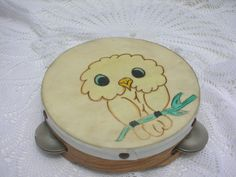 Owl Tambourine #owl #Tambourine
