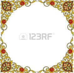 Ornamental decorative, circle