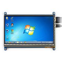 "7"" LCD HD Display Module w/ HDMI for Raspberry Pi / Banana Pi - Blue"