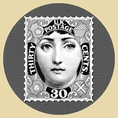 Fornasetti postage stamp.