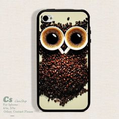 Case For Iphone 4 4s/5 high qulity Owl. ZC1119
