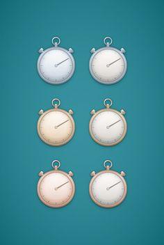 Create a Simple Stopwatch Illustration