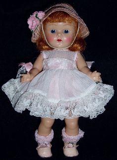 "RARE MIB! 1953 8"" Strung VOGUE GINNY Doll TALON ZIPPER SERIES"