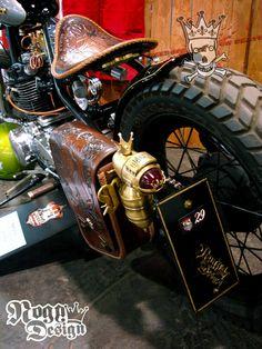 bikerMetric | custom honda yamaha metric bobbers, choppers, cafe racers, custom parts accessories: kz440 chopper by euro dudes