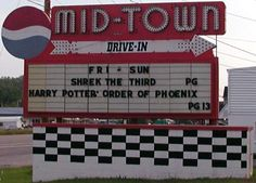 Midtown Drive-In, Harriman TN  2nd Feature Movie    Rock of Ages    Rated PG-13      A small town girl and a city boy meet on the Sunset Strip, while pursuing their Hollywood dreams.   123 min