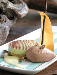 Dessert Professional | The Magazine Online - Pistachios Bavarois with Milk Chocolate Chantilly