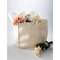Cottage Bag | Crochet |  | Free Pattern | Yarnspirations | Summer