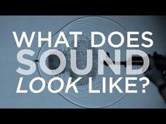"What does sound look like? What does sound look like? ""I found this incredible video about how sound looks, put out by NPR. it's min and really gives you an idea of the effects of how a sound's. Science Videos, Science Lessons, Teaching Science, Science Activities, Science Experiments, Teaching Resources, Sound Science, Science Fair, Science For Kids"