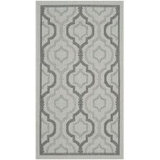 Courtyard Light Gray Anthracite Rug