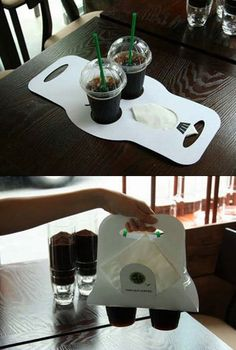 All coffee shops should have these! :)
