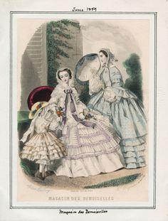 June, 1859 - Magasin des Demoiselles