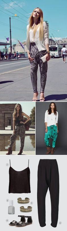 How to Wear It: Harem Pants