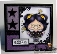 Magical Marcie by Lisa Foster DIgi stamp: Digital Delights by LoubyLoo