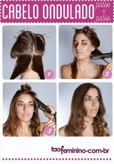 Cabelo ondulado: como ondular o cabelo - taofeminino