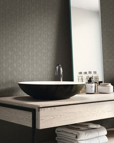 It's all in the details with the Pearl collection ✨Available in patterned and plain options, Pearl has its own unique character that transforms spaces with striking designs. Patterned Wall Tiles, Bathroom Gallery, Double Vanity, Spaces, Pearls, Unique, Character, Collection, Design
