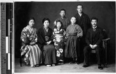 Japanese family, Japan, ca. 1920-1940 :: International Mission Photography Archive, ca.1860-ca.1960