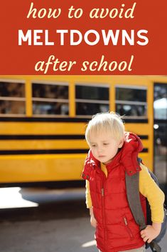 Proven strategies that help avoid after school meltdowns and restraint collapse and encourage your kids to work through their feelings and learn to communicate - all without screens! Free Activities For Kids, Calming Activities, Parenting Toddlers, Parenting 101, Overwhelmed By Life, Sibling Fighting, Toddler Art Projects, Toddler Preschool, After School