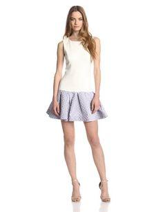 ERIN erin fetherston Women's Audrey Dropwaist Jacquard Dress, Periwinkle, 6 ERIN erin fetherston http://www.amazon.com/dp/B00JF4YFMQ/ref=cm_sw_r_pi_dp_PubUtb0CYT3EQ97K