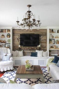 100 Attractive Farmhouse Living Room Decors Ideas You Should See!