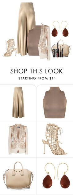 """Untitled #2825"" by empathetic ❤ liked on Polyvore featuring Givenchy, WearAll, Just Cavalli, Sophia Webster and Uzerai Edits"