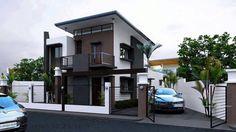 beautiful minimalist home design exterior ideas house Modern Small House Design, Small House Exteriors, House Front Design, Minimalist House Design, Cool House Designs, Modern Minimalist, Minimalist Office, Small Modern Home, House Exterior Color Schemes