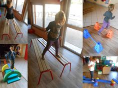 A parcours 5 Gross Motor Activities, Gross Motor Skills, Activities For Kids, Kids Soccer, Kids Sports, Cerebral Palsy Baby, Nursing Research, English Fun, Sport Body