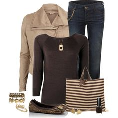 """""""Brown Love"""" by kswirsding on Polyvore"""