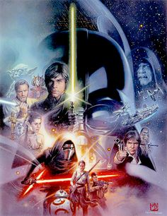 Star Wars: The Force Awakens Newsweek Cover - Tsuneo Sanda