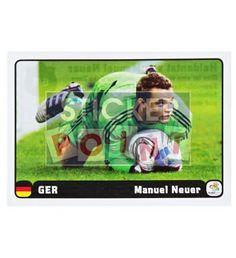 Panini Em Euro 2012 Manuel Neuer Sticker 6 von 6 vorne