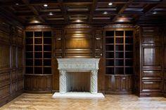 Paneled Library