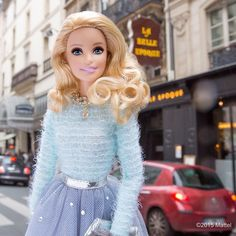 Just secured one of the hottest tables in town at La Belle Epoque! #pfw #barbie #barbiestyle