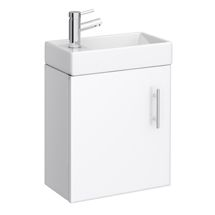 Cloakrooms and en-suites can still be stylish when you use small vanity units and compact furniture. Shop our wide range of cloakroom vanity units online. Small Vanity Unit, Cloakroom Vanity Unit, Vanity Units, Compact Furniture, Units Online, Basin Unit, Floating Vanity, Wall Mounted Vanity, Plumbing