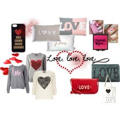 """""""Love, love, love"""" by rere2111 on Polyvore"""